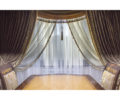 Классические шторы с ламбрекеном 01