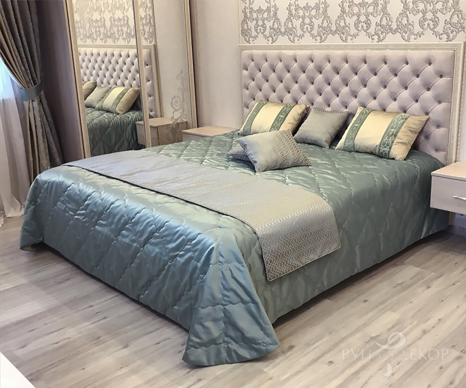 Спальня с покрывалом 01