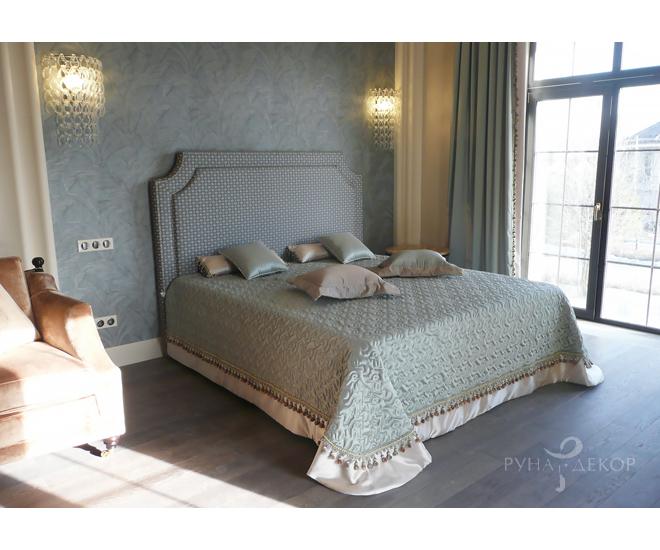 Текстильное оформление спальни 01