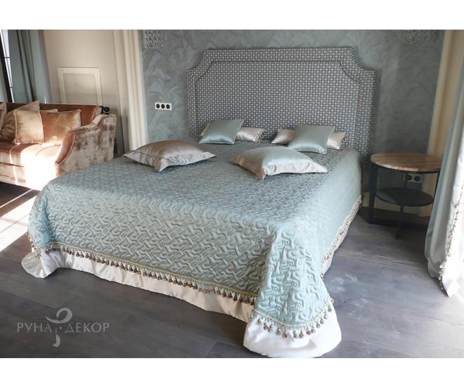 Текстильное оформление спальни 02